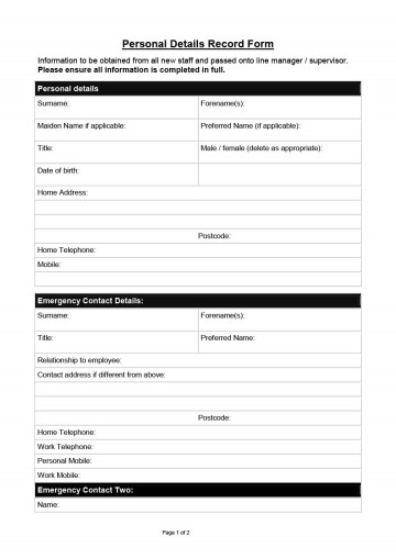 005 Awful New Hire Form Template Image  Application Document Checklist Word360
