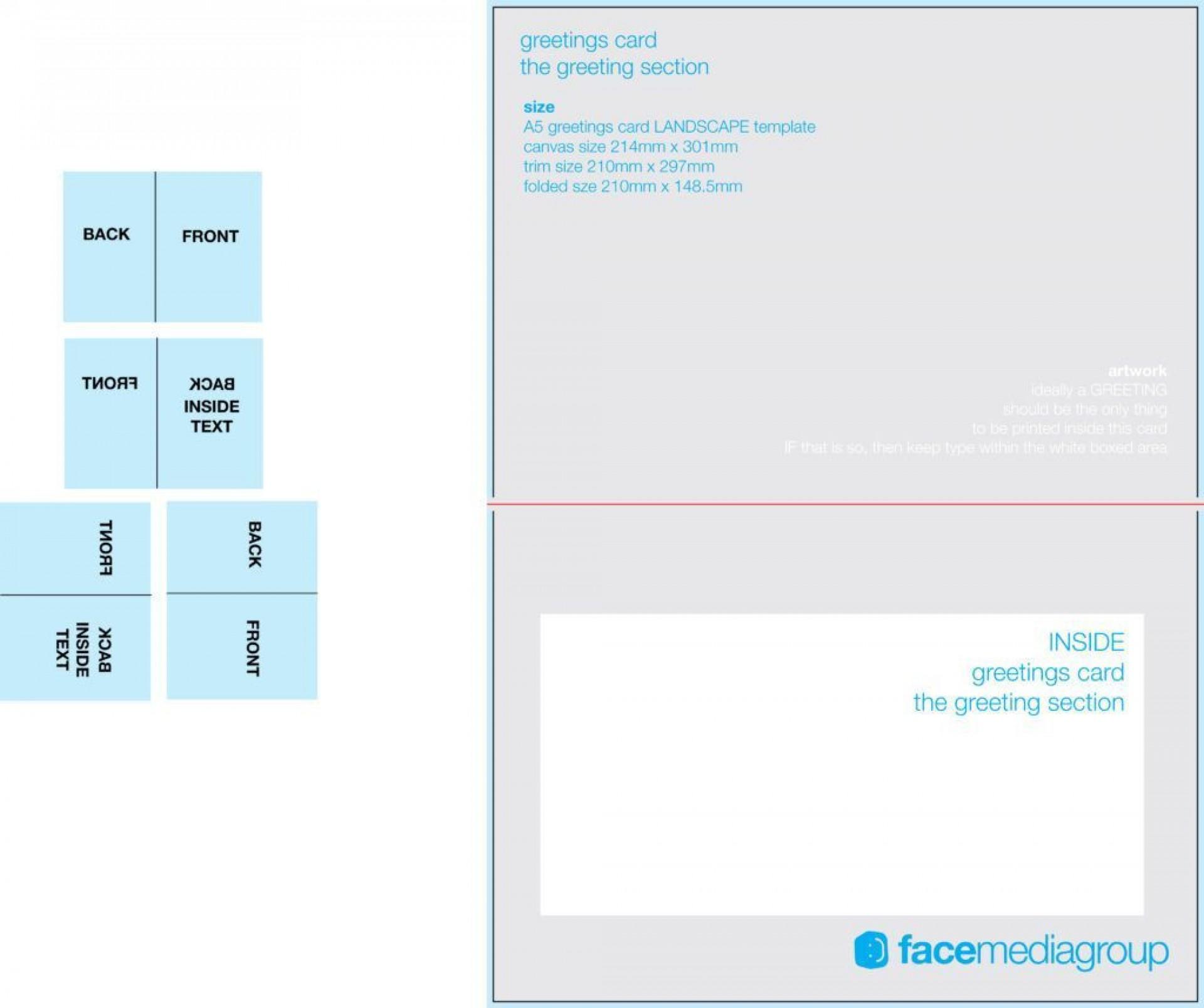 005 Awful Quarter Fold Card Template Word Blank High Resolution 1920