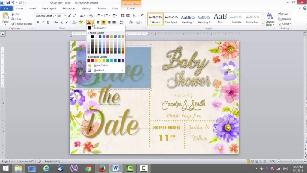 005 Awful Save The Date Word Template High Def  Free Birthday For Microsoft Postcard FlyerLarge