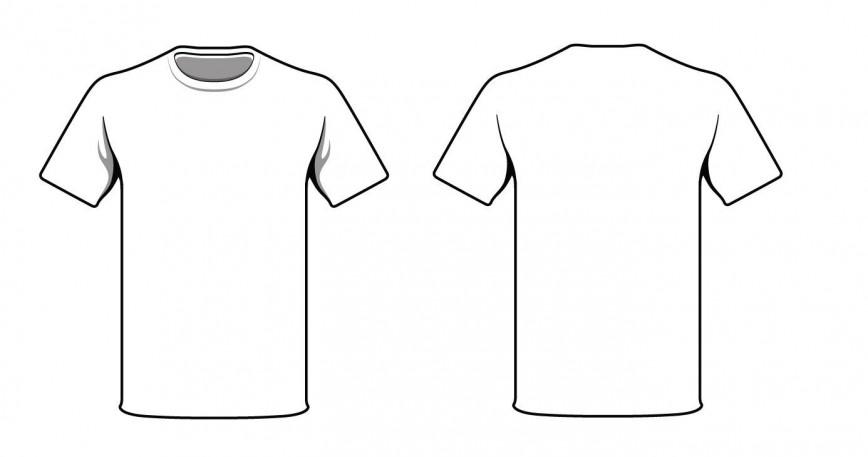 005 Awful T Shirt Template Design Sample  Collar Psd Men' T-shirt Free Vector Download