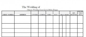 005 Awful Wedding Guest List Excel Spreadsheet Template Highest Clarity 360