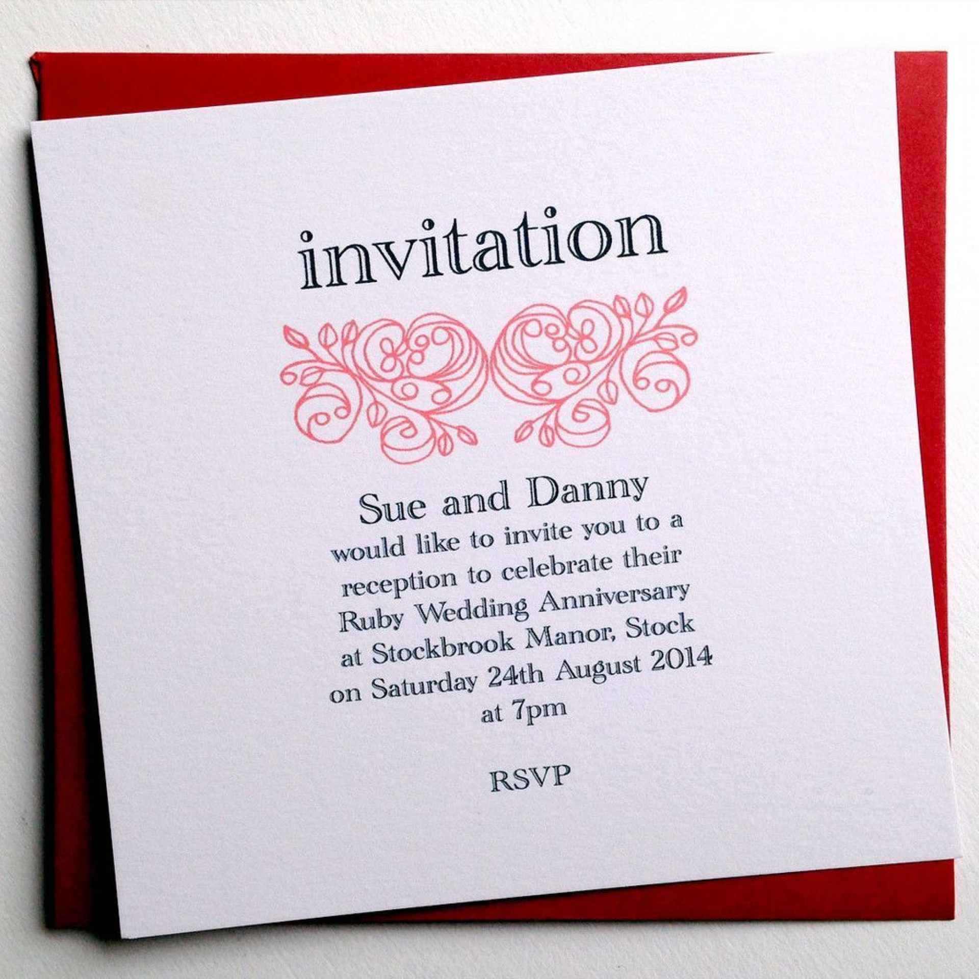 005 Beautiful 50th Anniversary Invitation Card Template High Definition  Templates Free1920