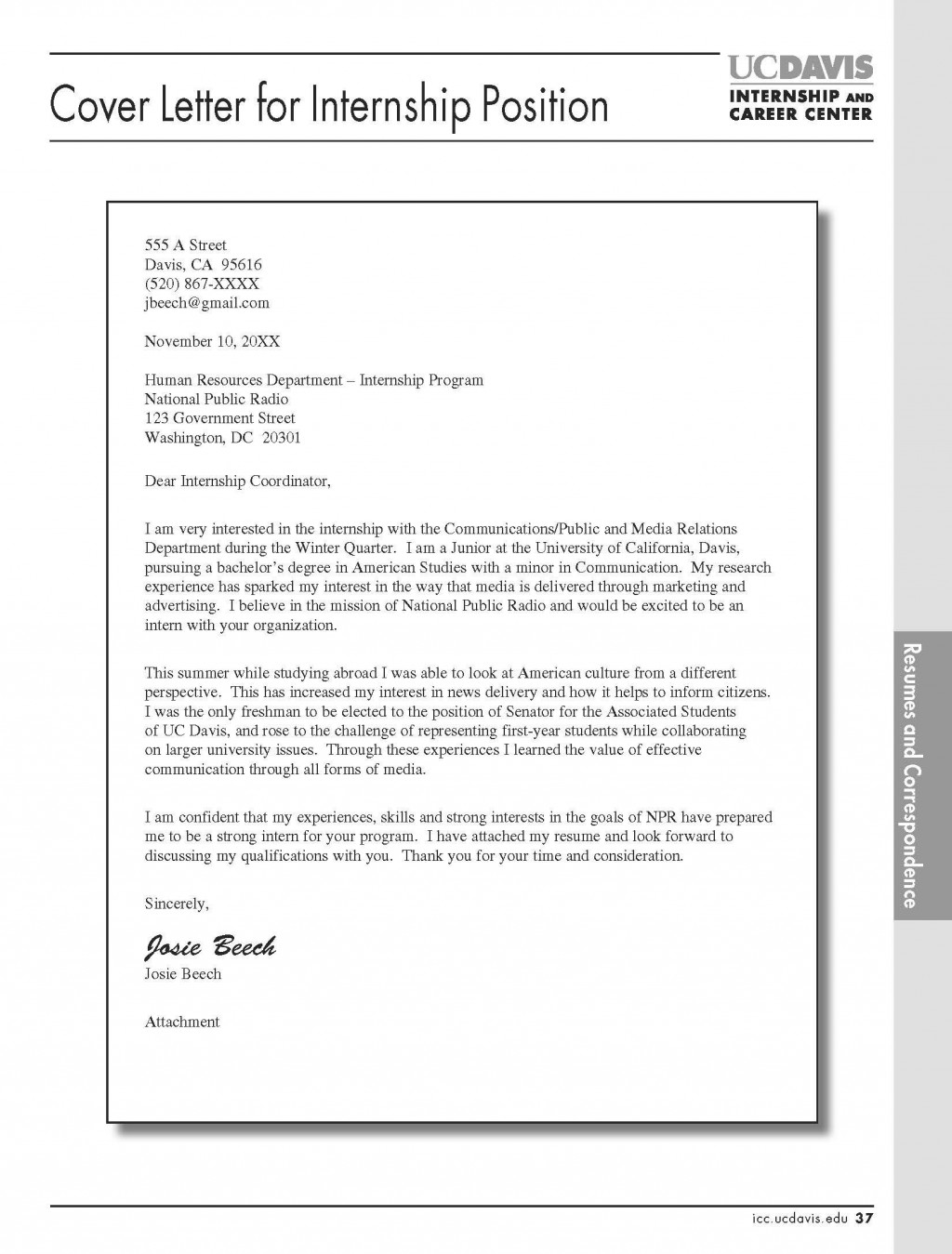 005 Beautiful Cover Letter Template Internship Design  Example Marketing Position For Civil EngineeringLarge