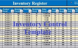005 Beautiful Excel Stock Inventory Template With Formula Example  Formulas