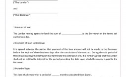 005 Beautiful Family Loan Agreement Template Pdf High Resolution  Free
