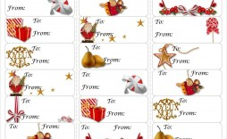 005 Beautiful Free Download Christma Addres Label Template Picture  Templates