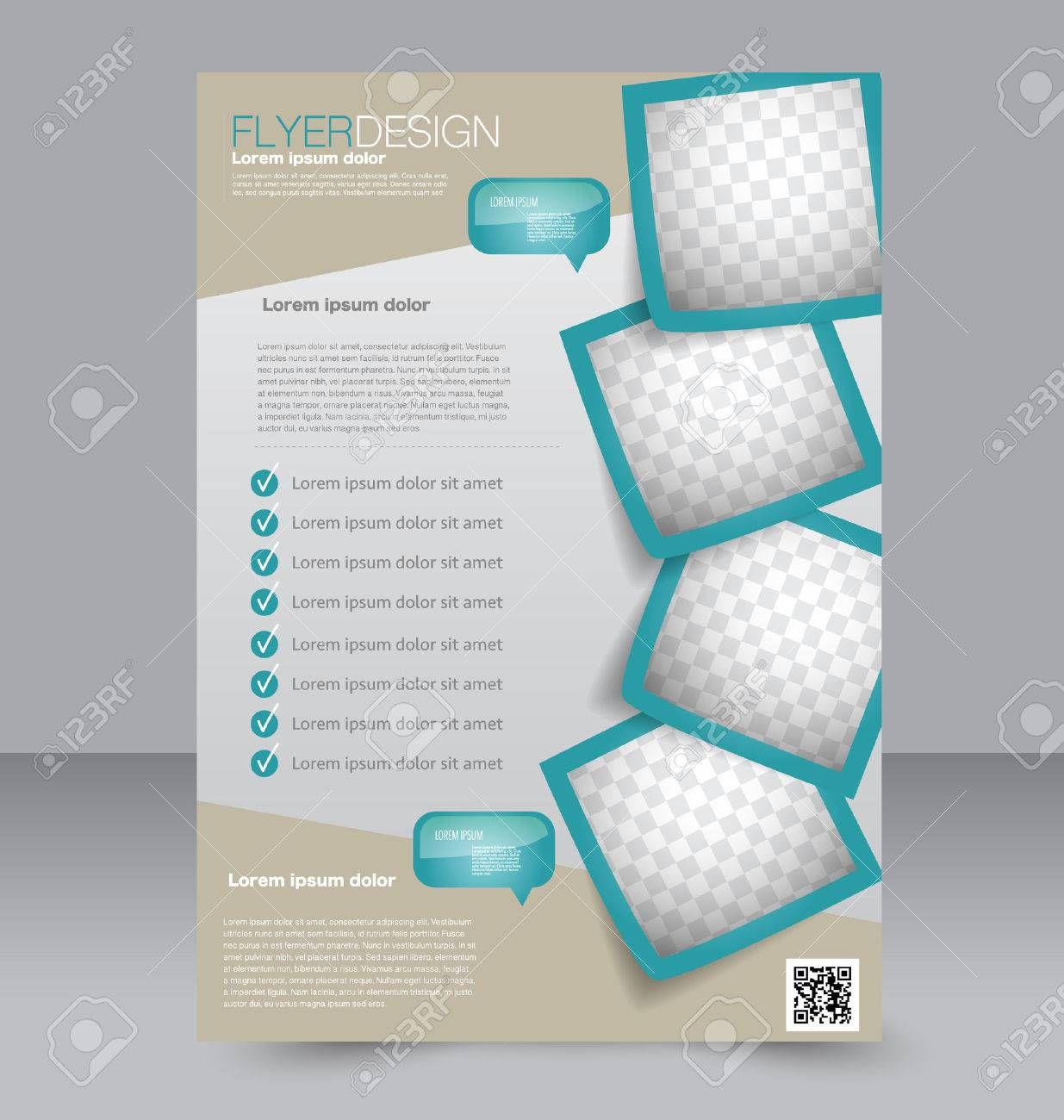 005 Beautiful Free Editable Flyer Template Example  Busines FundraisingFull