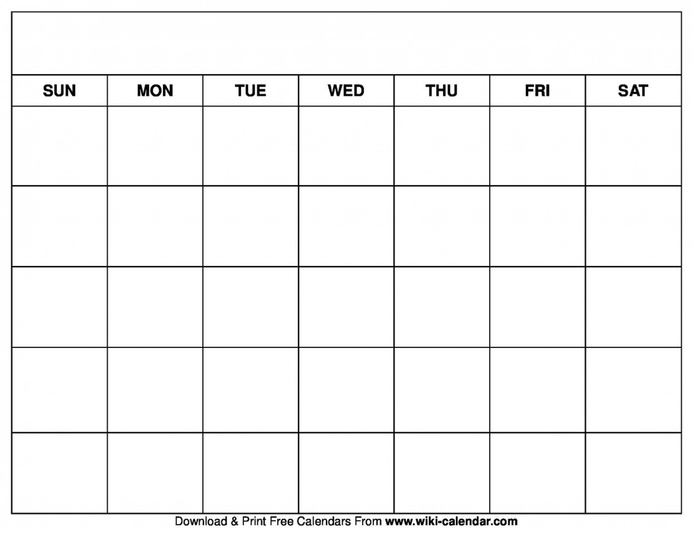 005 Beautiful Free Printable Blank Monthly Calendar Template Highest Clarity 1400