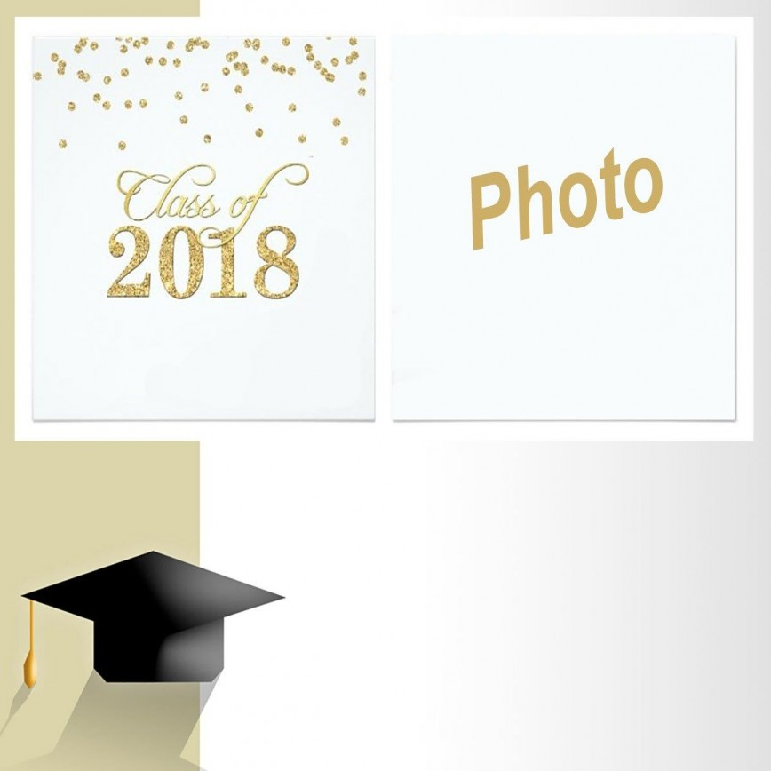 005 Beautiful Free Printable Graduation Invitation Template Photo  Preschool Card 2019868
