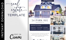 005 Beautiful House For Sale Flyer Template Sample  Free Ad