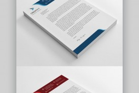 005 Beautiful Letterhead Template Free Download Word Concept  Microsoft Format In Personal Red