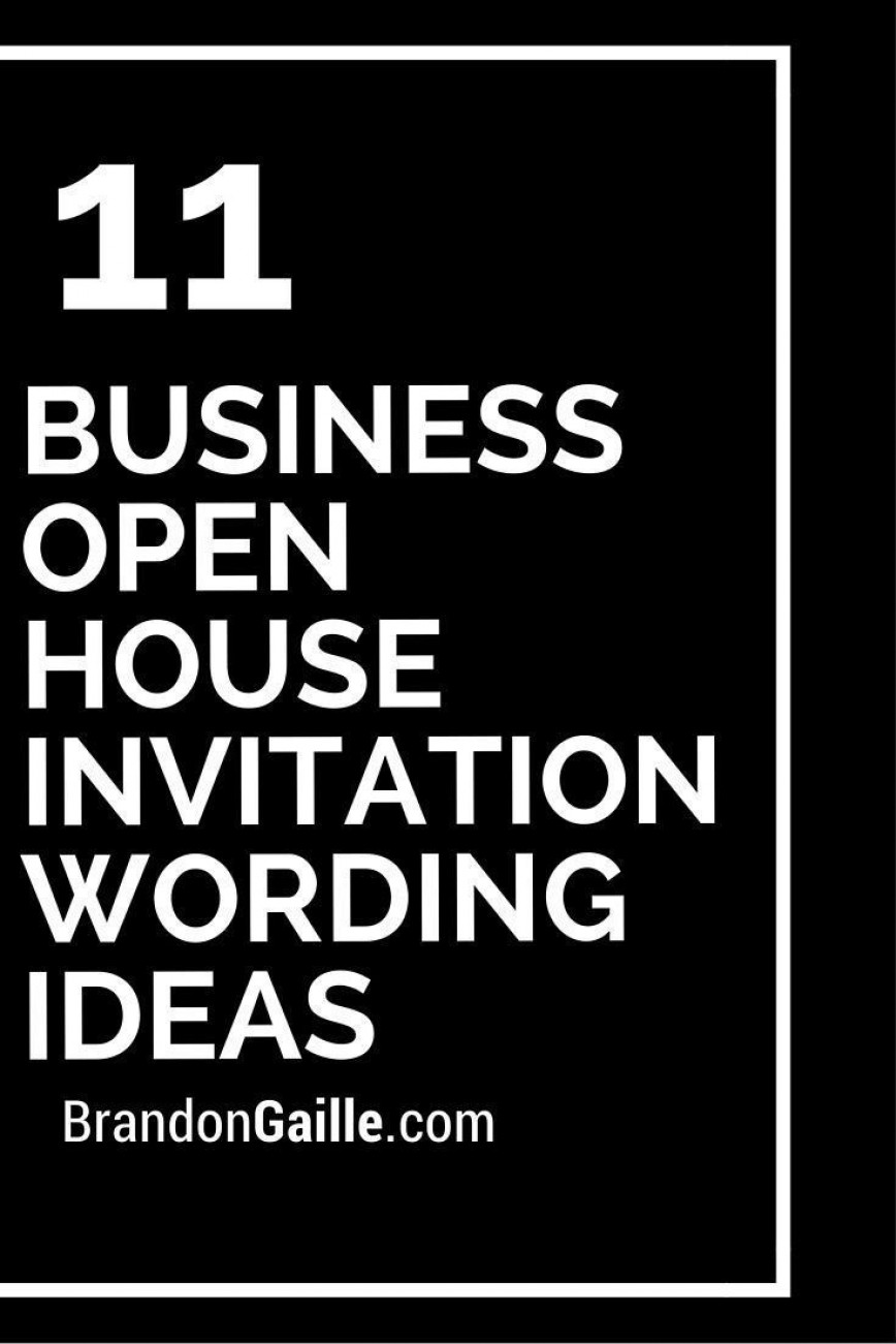 005 Beautiful Open House Invite Template Example  Templates Party Invitation