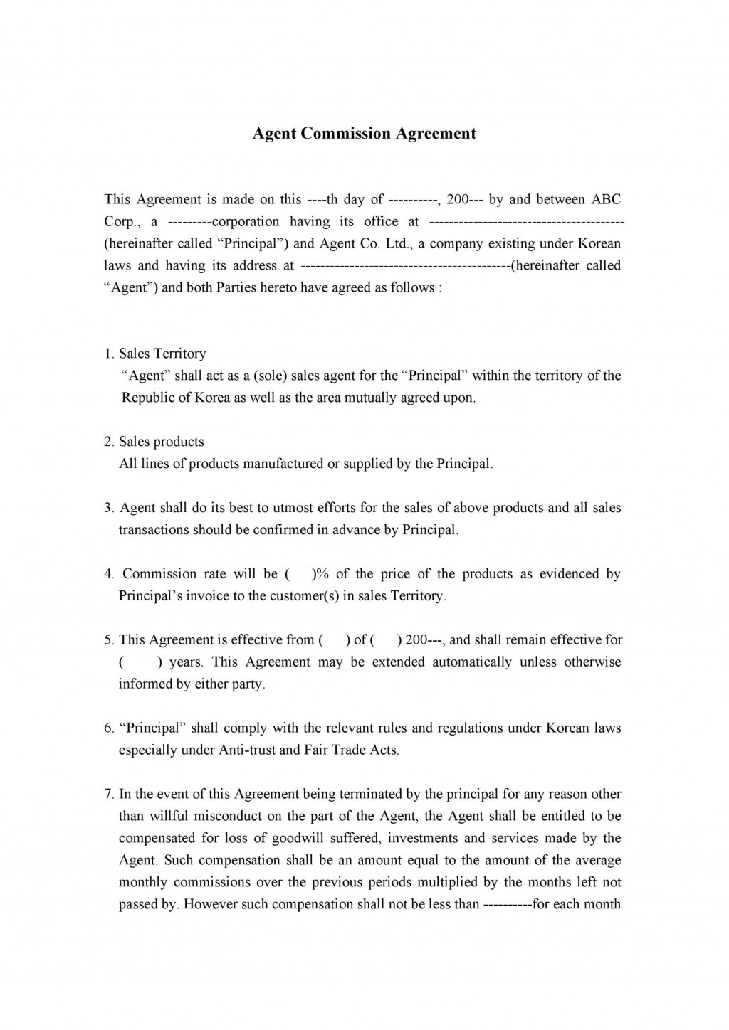 005 Beautiful Property Purchase Agreement Template Uk Picture Large