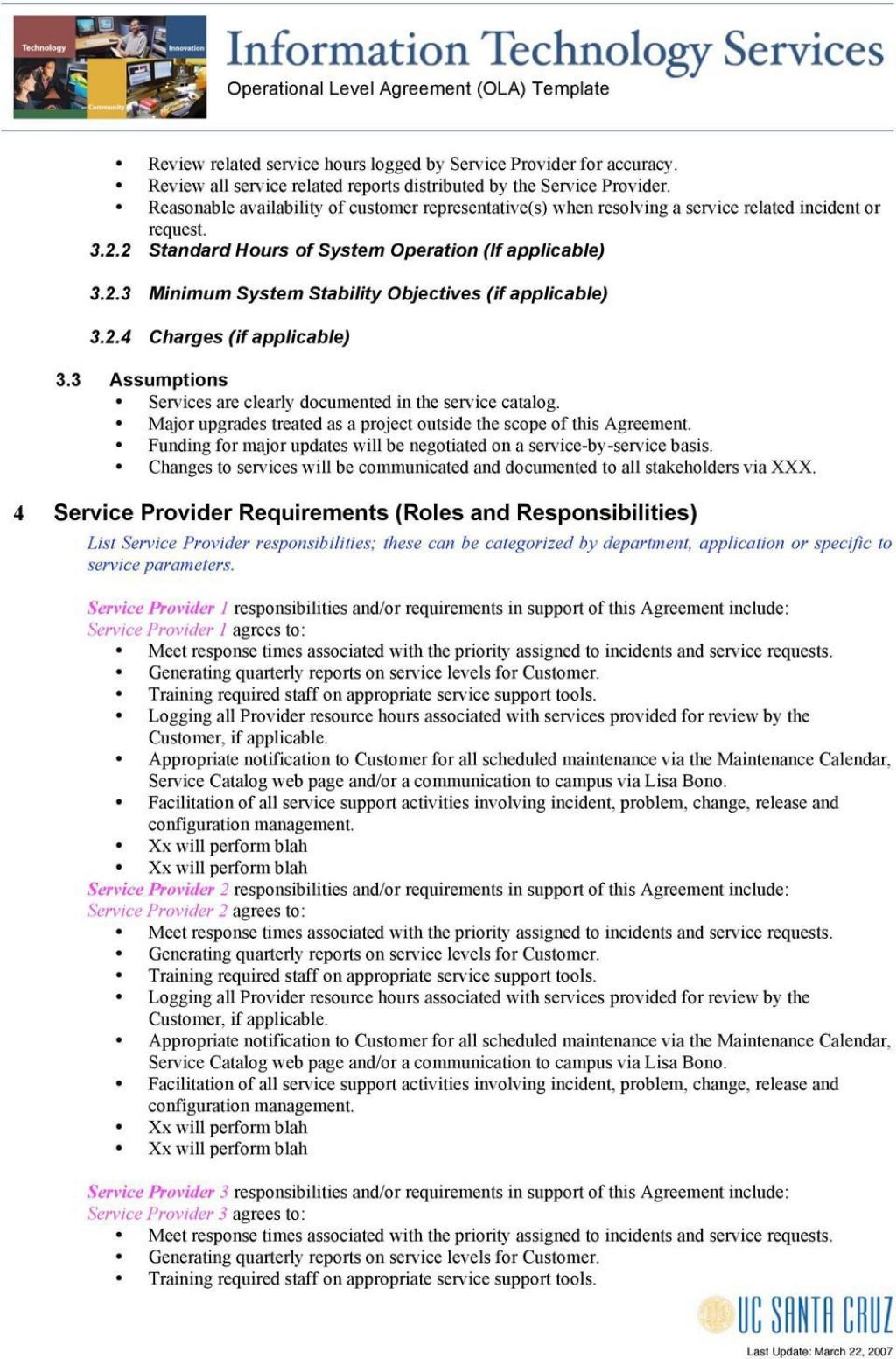 005 Beautiful Service Level Agreement Template High Def  South Africa Nz For Website DevelopmentLarge