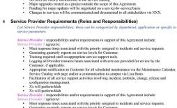 005 Beautiful Service Level Agreement Template High Def  South Africa Nz For Website Development