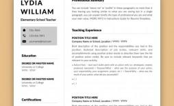 005 Beautiful Teacher Resume Template Microsoft Word 2007 Example