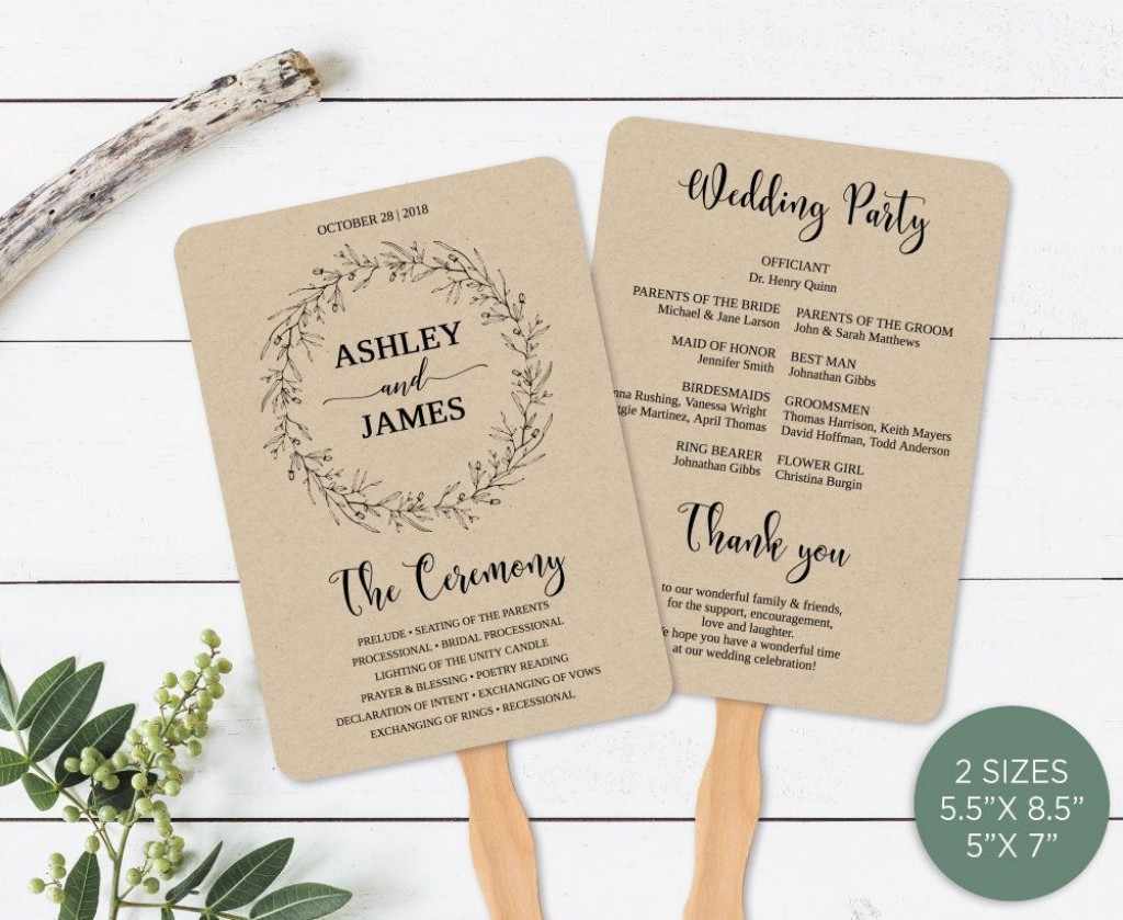 005 Beautiful Wedding Order Of Service Template Pdf High Resolution Large