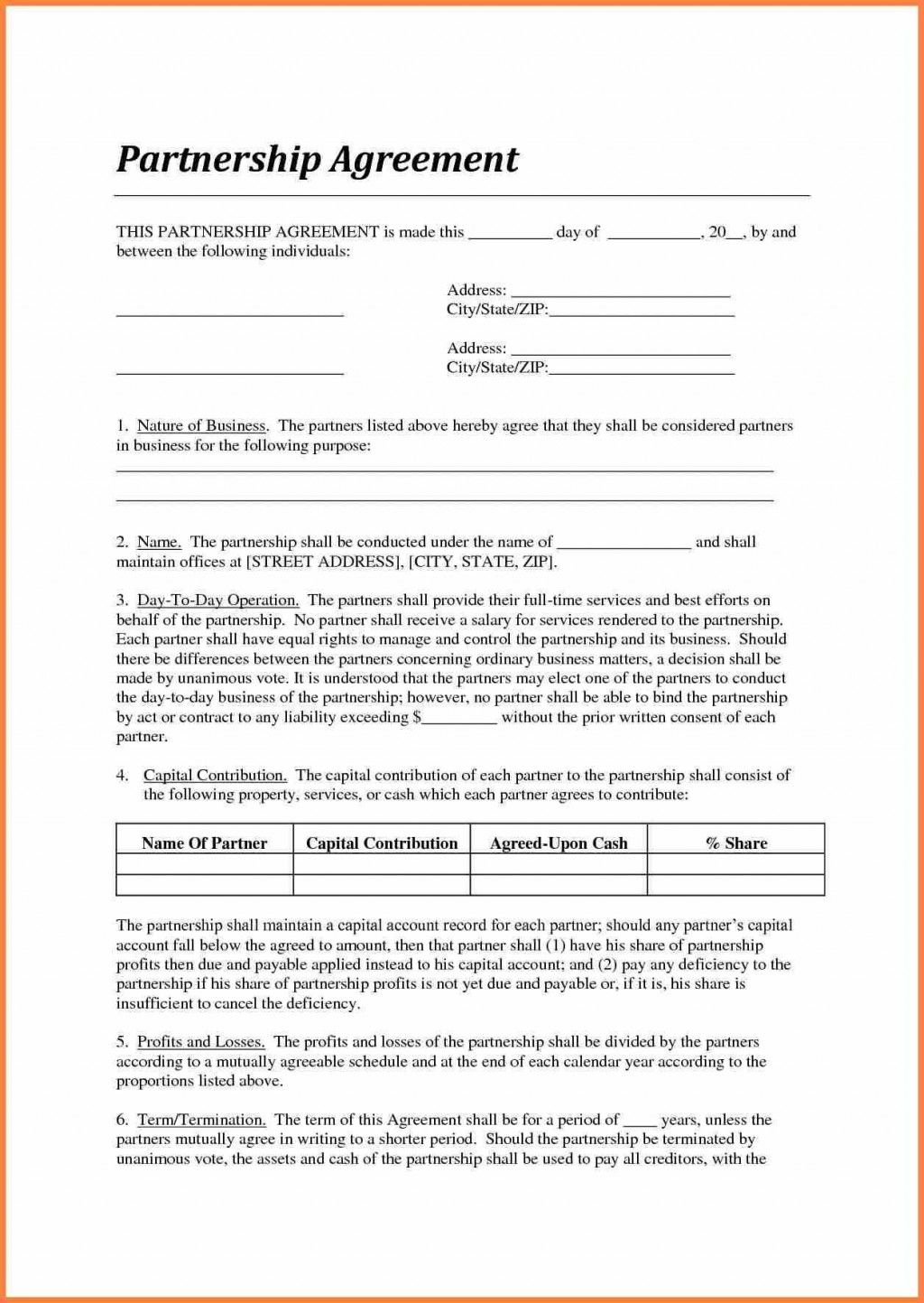 005 Best Agreement Template Between Two Partie Picture  Parties Service Uk Payment Letter WordLarge