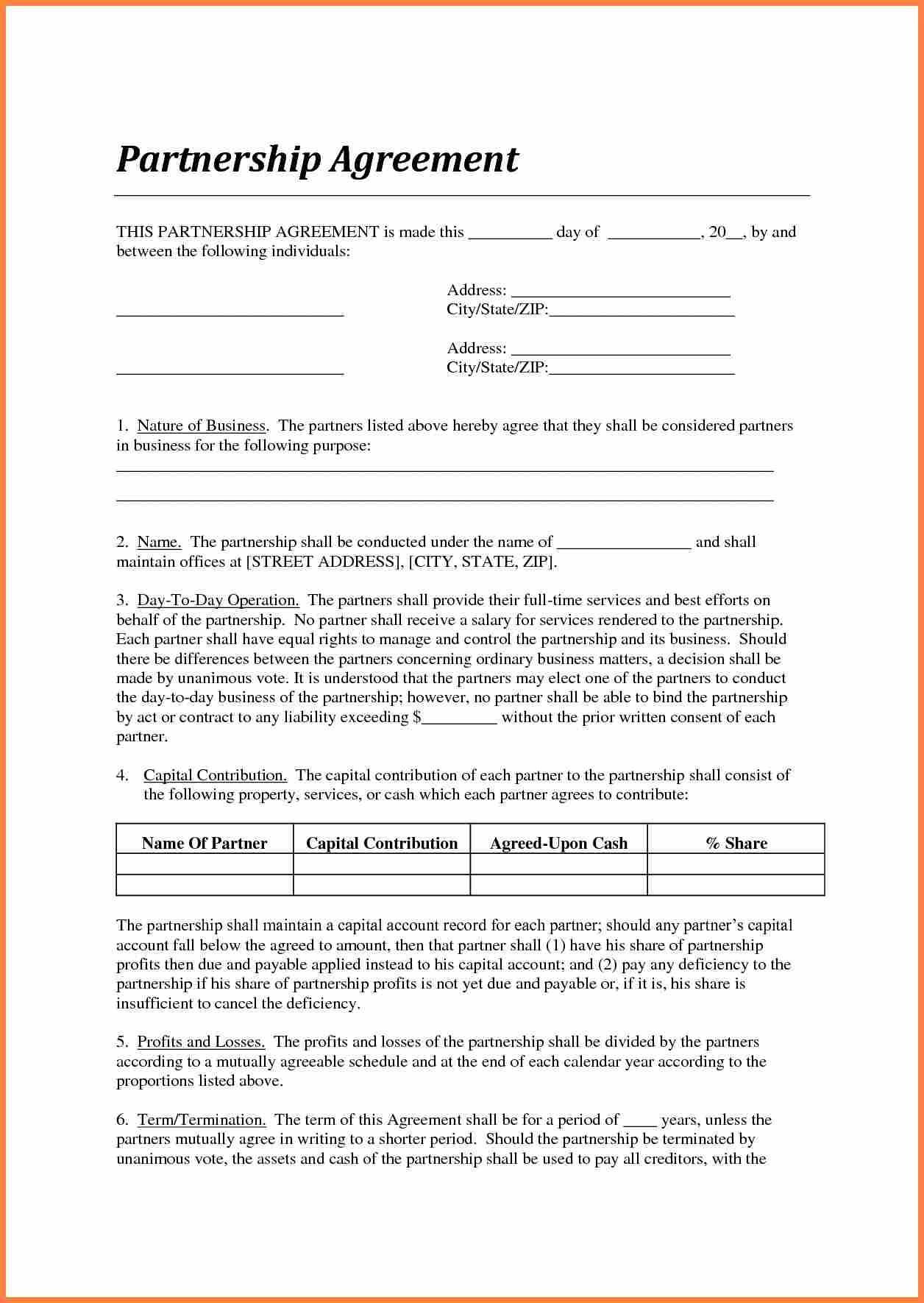 005 Best Agreement Template Between Two Partie Picture  Parties Service Uk Payment Letter WordFull