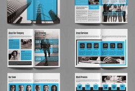 005 Best Annual Report Design Template Indesign Concept  Free Download