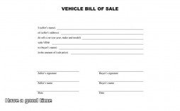 005 Best Automobile Bill Of Sale Template Design  Word Vehicle Fillable Pdf Texa With Notary