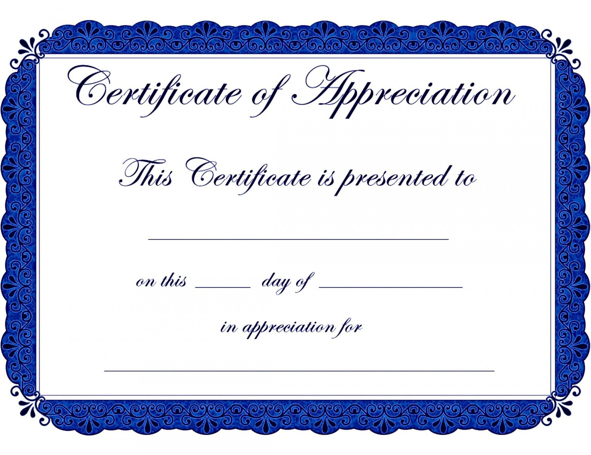 005 Best Certificate Of Recognition Sample Wording High Resolution  Award1920