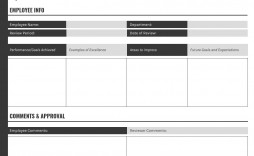 005 Best Employee Evaluation Form Template Picture  Word Self Free