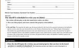 005 Best Eviction Notice Template Free Inspiration  30 Day Uk Word Document