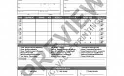 005 Best Hvac Service Agreement Template Image  Contract Form Maintenance Pdf