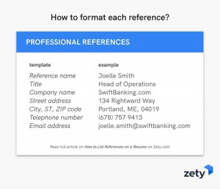 005 Best List Of Professional Reference Format Example  Template320