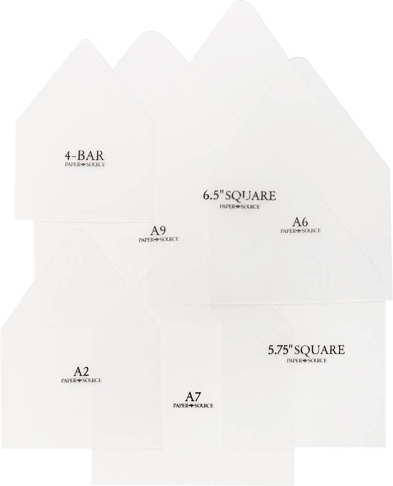 005 Best Paper Source A7 Envelope Liner Template High Def Full