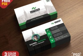 005 Best Psd Busines Card Template Design  With Bleed And Crop Mark Vistaprint Free