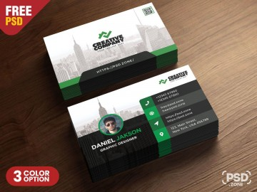 005 Best Psd Busines Card Template Design  With Bleed And Crop Mark Vistaprint Free360