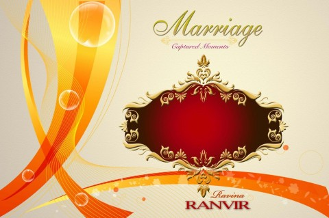 005 Best Wedding Cd Cover Design Template Free Download Concept 480