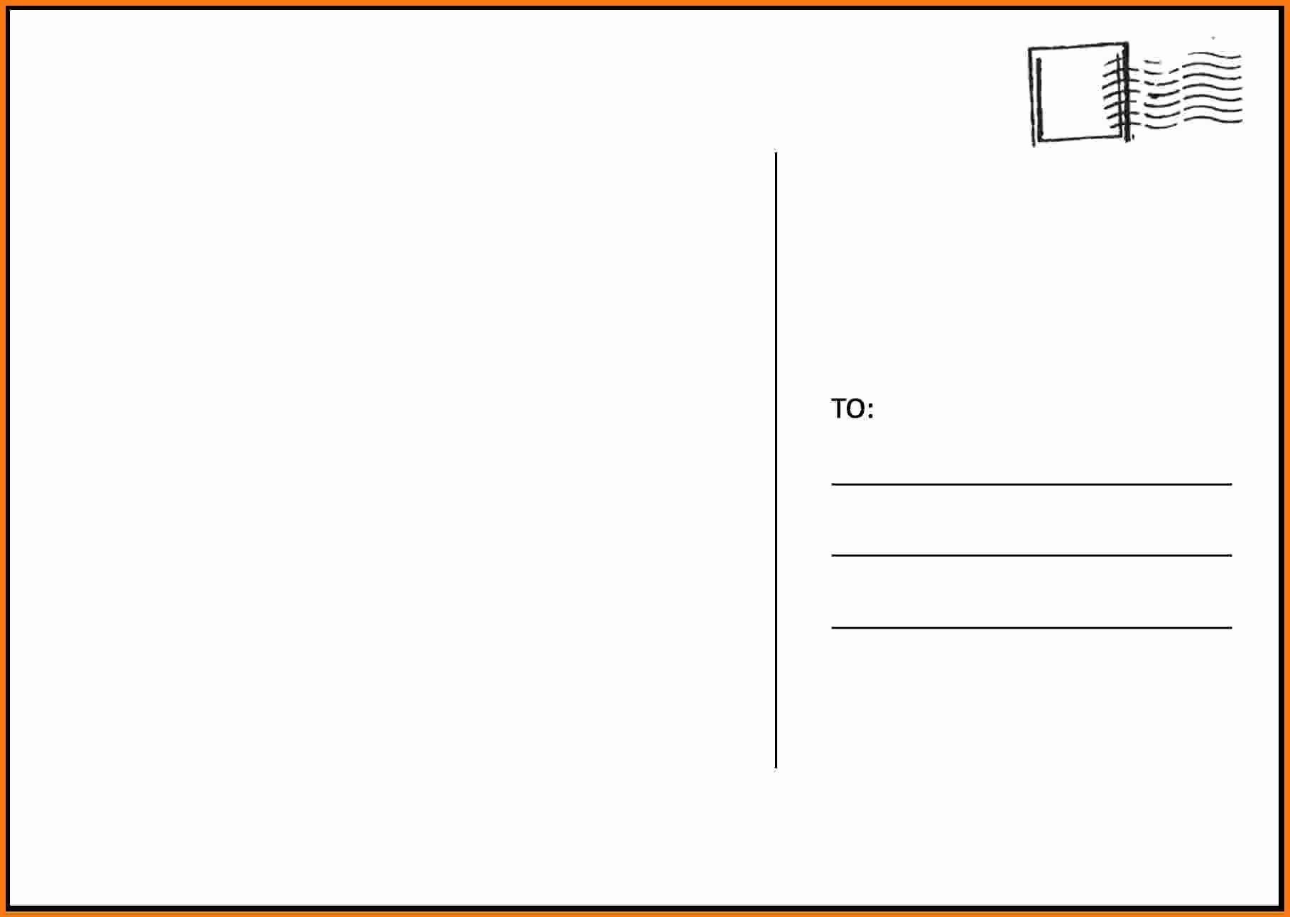 005 Breathtaking 5 X 7 Postcard Template Microsoft Word High Def Full
