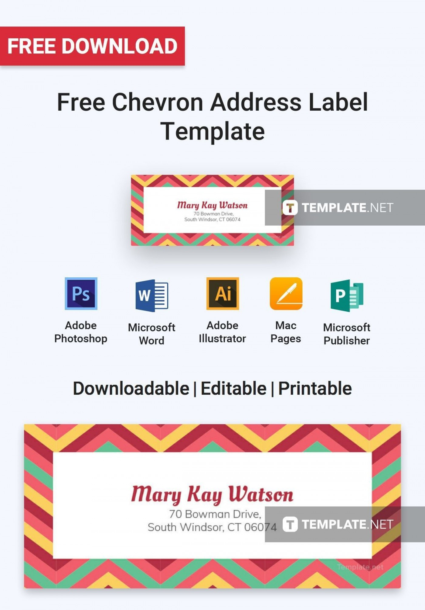 005 Breathtaking Addres Label Template For Mac Page Sample  Return Avery 51601400