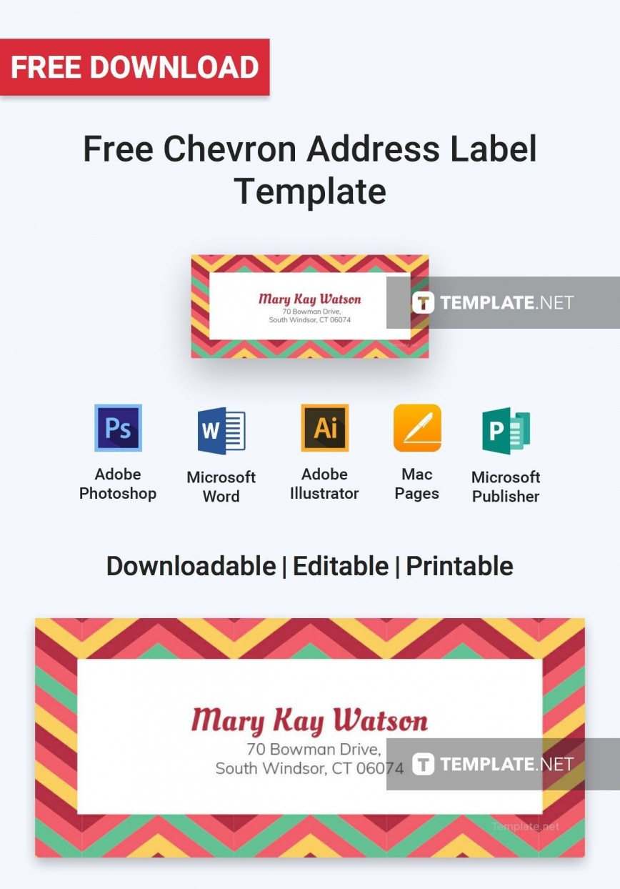 005 Breathtaking Addres Label Template For Mac Page Sample  Return Avery 5160868