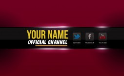 005 Breathtaking Free Channel Art Template Example