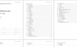 005 Breathtaking Free Marketing Plan Template Concept  Word Download Ppt Google Doc