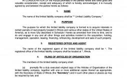 005 Breathtaking Free Operating Agreement Template Image  Pdf Missouri Llc