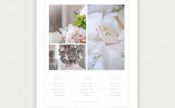 005 Breathtaking Free Photography Package Template Idea  Pricing