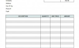 005 Breathtaking Free Service Invoice Template Photo  Printable Form Cleaning Microsoft Excel
