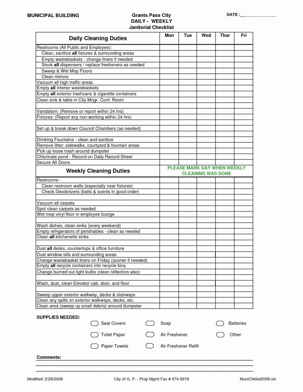 005 Breathtaking House Cleaning Schedule Template Excel Highest Clarity Large