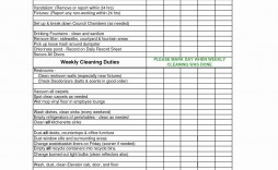 005 Breathtaking House Cleaning Schedule Template Excel Highest Clarity