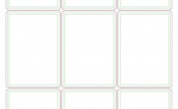 005 Breathtaking Playing Card Size Template Sample  Game Standard