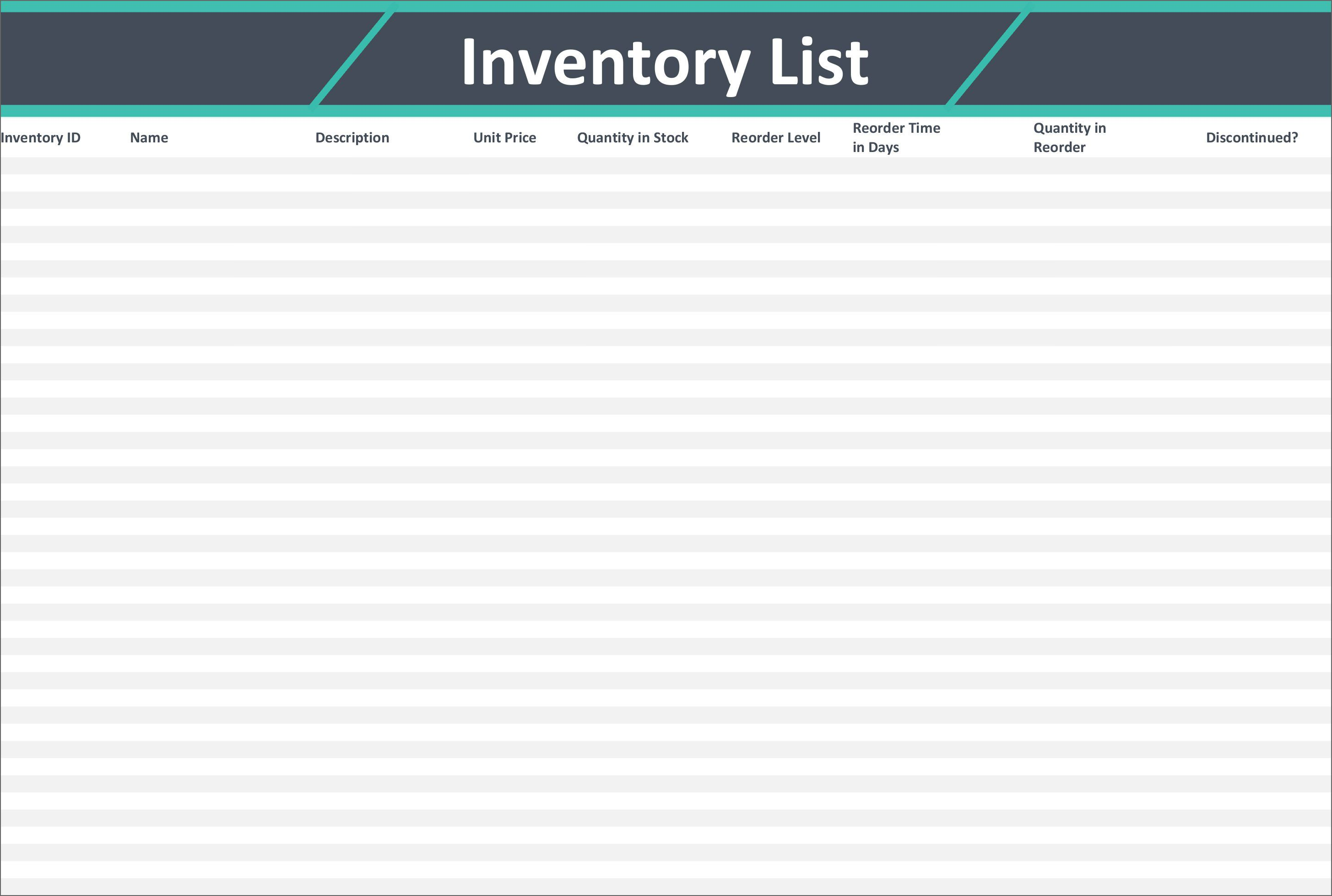 005 Breathtaking Stock Inventory Control Template Excel Free Picture Full
