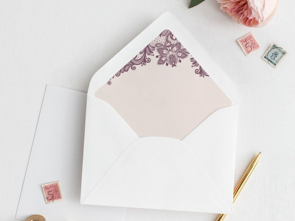 005 Dreaded A7 Envelope Liner Template Concept  Printable Illustrator FreeLarge