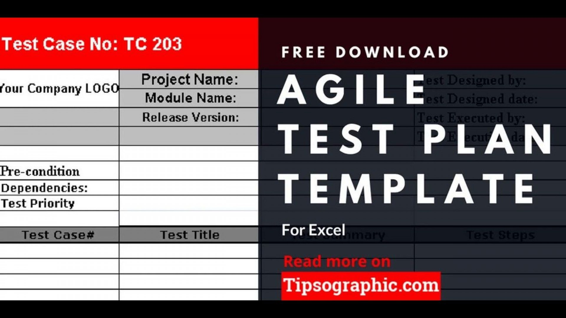 005 Dreaded Agile Test Plan Template Image  Word Example Document1920