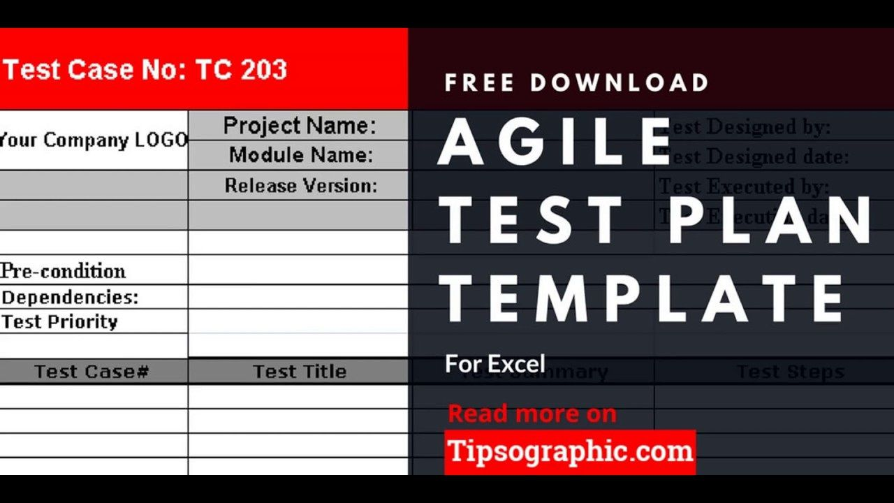 005 Dreaded Agile Test Plan Template Image  Word Example DocumentFull