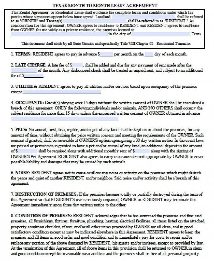 005 Dreaded Apartment Lease Agreement Form Texa Highest Quality 728